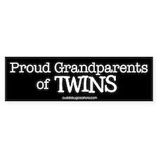 Grandparents of twins - Bumper Bumper Sticker