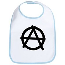 Anarchy Baby Bib