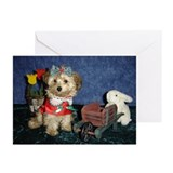 Yorkiepoo Greeting Cards (Pk of 10)
