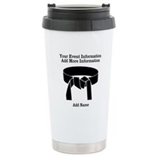 Martial Artist Travel Mug