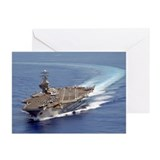 USS Carl Vinson Greeting Cards (6)
