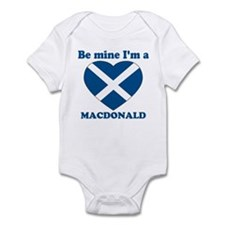 MacDonald, Valentine's Day  Infant Bodysuit