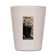 Red Panda 005 Shot Glass