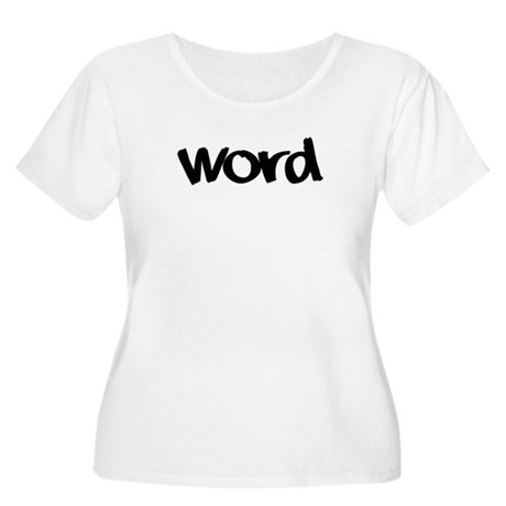 Word Statement Clothing and G Women's Plus Size Sc