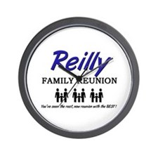Reilly Family Reunion Wall Clock