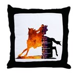 Turn 'n Burn Throw Pillow