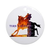 Turn 'n Burn Ornament (Round)