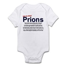 Infant Ask Me About Prions Creeper/Onesie