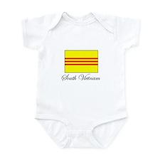 South Vietnam - Flag Infant Bodysuit