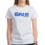 New Orleans Street Tile Maple St. Women's T-Shirt