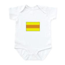 South Vietnamese Flag Infant Bodysuit