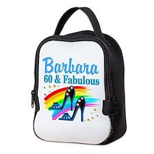 GLAMOROUS 60TH Neoprene Lunch Bag