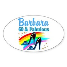 GLAMOROUS 60TH Decal