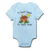 Favorite Hangout My AUNTS House Infant Bodysuit