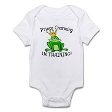 Frog Prince Charming Training Baby Bodysuit