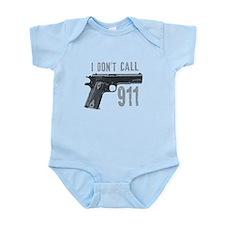 I don't call 911 Infant Bodysuit