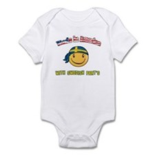 Made in America with Swedish part's Infant Bodysui