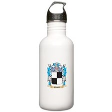 Paske Coat of Arms - F Water Bottle