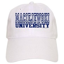 MACIEJEWSKI University Baseball Cap