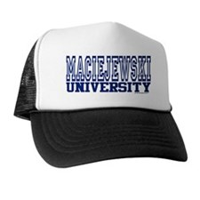 MACIEJEWSKI University Trucker Hat
