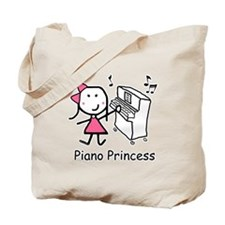 Piano - Princess Tote Bag
