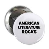 American Literature Rocks Button