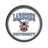 LAROCQUE University Wall Clock