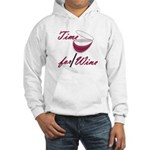 Time for Wine Hooded Sweatshirt