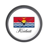 Kiribati - Flag Wall Clock
