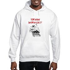 TRAIN WRECK Hoodie