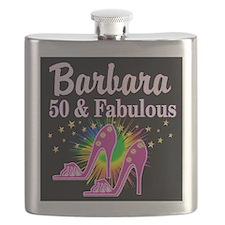 SWANKY 50TH Flask