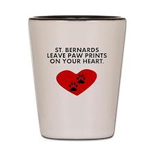 St. Bernards Leave Paw Prints On Your Heart Shot G