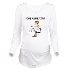 Scientist (Custom) Long Sleeve Maternity T-Shirt