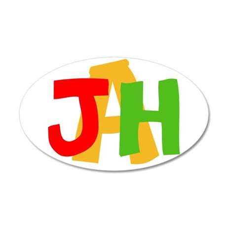 JAH! Wall Decal