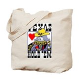 Texas Hold em Poker Tote Bag