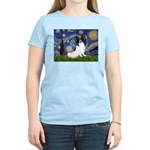 Starry Night Papillon Women's Light T-Shirt