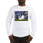 Starry Night Papillon Long Sleeve T-Shirt