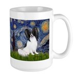 Starry Night Papillon Large Mug