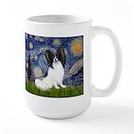 Starry Night Papillon Large Mug