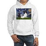 Starry Night Papillon Hooded Sweatshirt