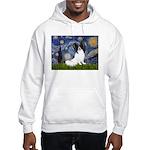 Starry Night Papillon Hooded Sweatshirt