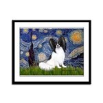 Starry Night Papillon Framed Panel Print