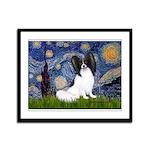 Starry Night Papillon Framed Panel Print