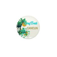Palm Trees Circles Spring B Mini Button (10 pack)
