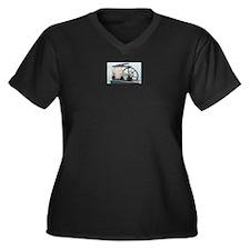 Steam Engine Plus Size T-Shirt