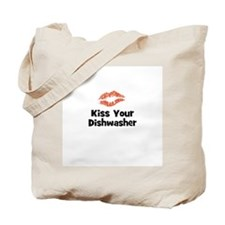 Kiss Your Dishwasher Tote Bag