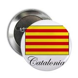 Catalonia - Flag Button