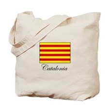 Catalonia - Flag Tote Bag