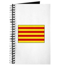 Catalonia Flag Journal