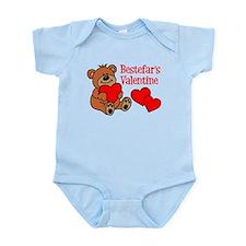 Bestefar's Valentine Cartoon Bear Body Suit